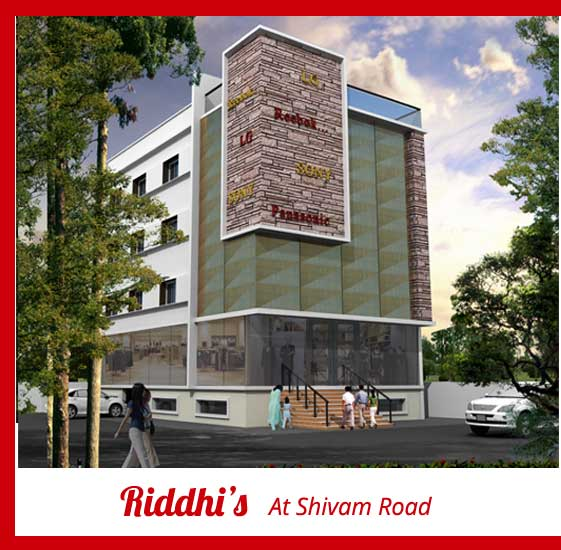 riddhi's project at shivam road